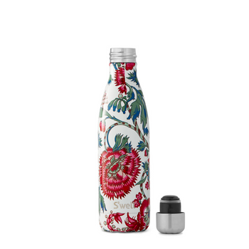 S'well Textile Collection Insulated Stainless Steel Water Bottle - Suzani - 17oz