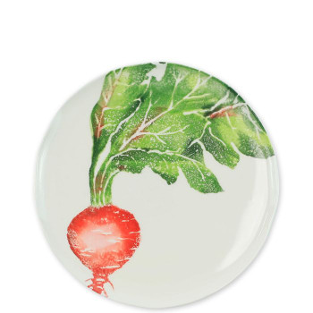 Vietri Spring Vegetables Assorted Salad Plates - Set of 4