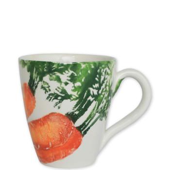 Vietri Spring Vegetables Assorted Mugs - Set of 4