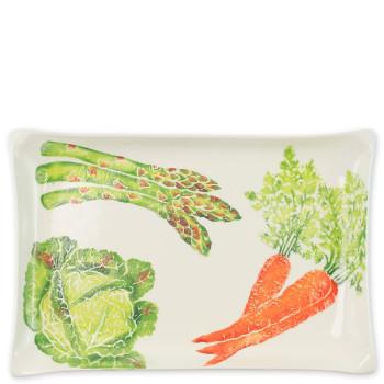 Vietri Spring Vegetables Rectangular Platter