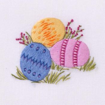 Henry Handwork Easter Egg Hand Towel