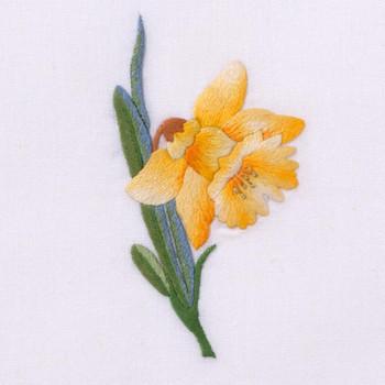 Henry Handwork Daffodil Guest Towel