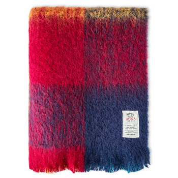 Avoca Harriet Mohair Throw