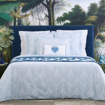 Yves Delorme Palmes Bedding Collection