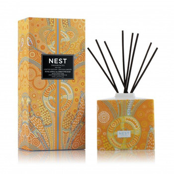 Nest Limited Edition Reed Diffuser - Pineapple & Driftwood