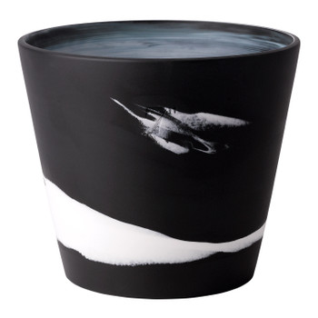 "Wedgwood Burlington Pot 7"" (Black & White)"