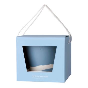 "Wedgwood Burlington Pot 7"" (Blue & White)"