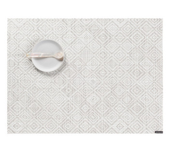 "Chilewich Mosaic Placemat - Grey - 14""x19"""