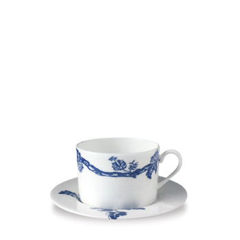 Caskata Arcadia Blue Cup & Saucer