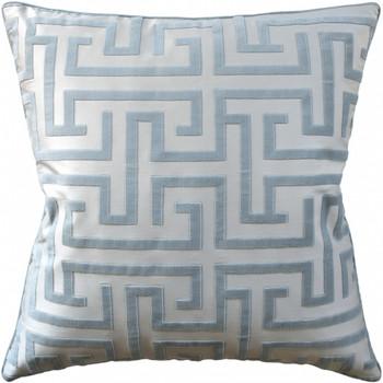 Ryan Studio Ming Trail Robin's Egg Decorative Pillow