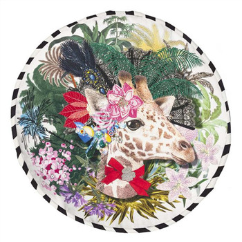 Designers Guild Christian Lacroix Dona Jirafa Decorative Pillow