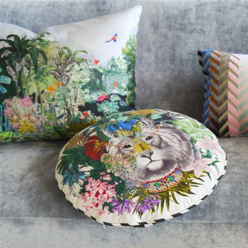 Designers Guild Christian Lacroix Jungle King Decorative Pillow