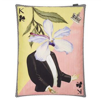 Designers Guild Christian Lacroix Monsieur Fleur Decorative Pillow