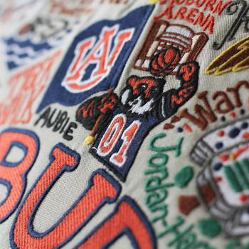 Catstudio Auburn University Collegiate Embroidered Pillow