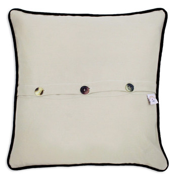 Catstudio Connecticut Hand-Embroidered Pillow