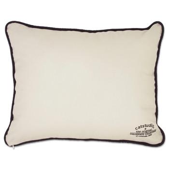 Catstudio Indiana University Collegiate Embroidered Pillow