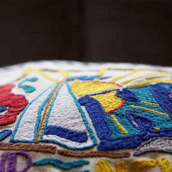 Catstudio Long Island Hand-Embroidered