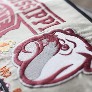 Catstudio Mississippi State University Collegiate Embroidered Pillow