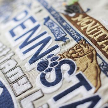 Catstudio Penn State University Collegiate Embroidered Pillow