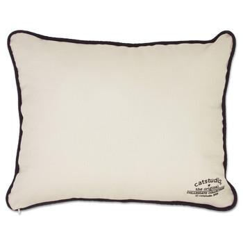 Catstudio Boulder University of Colorado Collegiate Embroidered Pillow