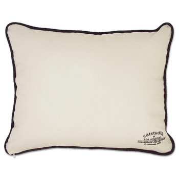 Catstudio West Virginia University Collegiate Embroidered Pillow