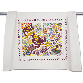 Catstudio Arizona State University Collegiate Dish Towel