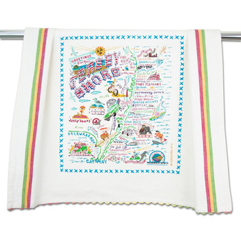 Catstudio Jersey Shore Dish Towel