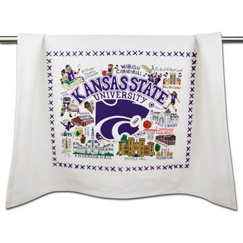 Catstudio Kansas State University Collegiate Dish Towel