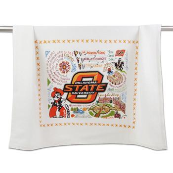 Catstudio Oklahoma State University Collegiate Dish Towel