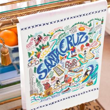 Catstudio Santa Cruz Dish Towel