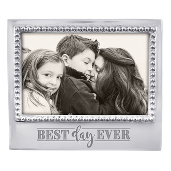 Mariposa 4 x 6 Best Day Ever Beaded Statement Frame