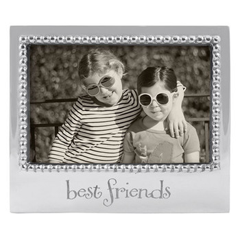 Mariposa 4 x 6 Best Friends Beaded Frame