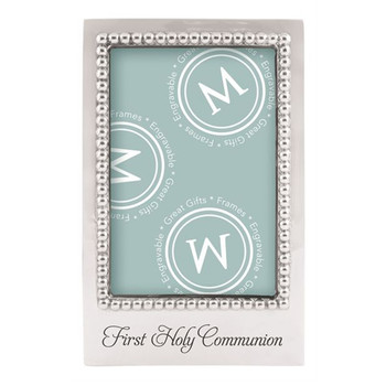 Mariposa 4 x 6 First Holy Communion Vertical Frame