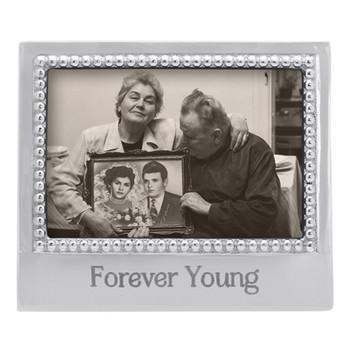 Mariposa 4 x 6 Forever Young Beaded Frame
