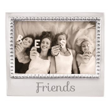 Mariposa 4 x 6 Friends Beaded Frame