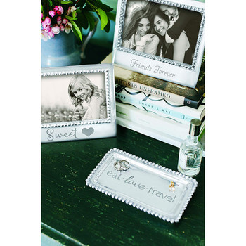 Mariposa 4 x 6 Friends Forever Beaded Frame