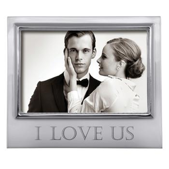 Mariposa 4 x 6 I Love Us Signature Frame