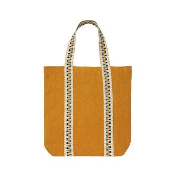 Yves Delorme 16 x 17 Iosis Pigment Jaune d'or Bag