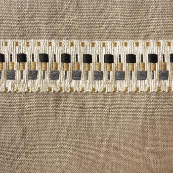 Yves Delorme 16 x 17 Iosis Pigment Sahara Bag