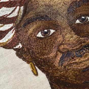 Iosis Zanzibar Grenat Decorative Pillow