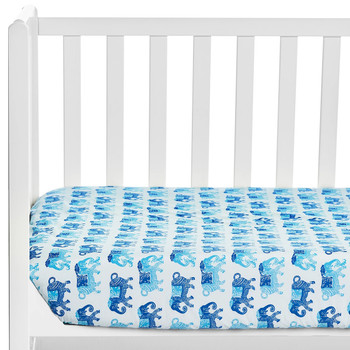 John Robshaw Gamana Crib Sheet