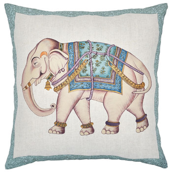 John Robshaw 22 x 22 Jambira Decoratiave Pillow with Insert