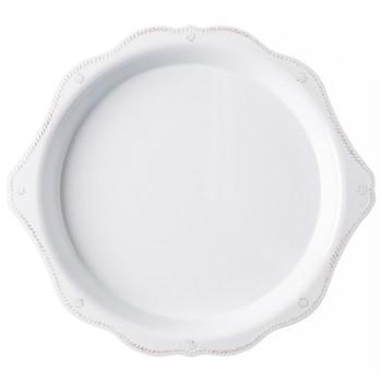 Juliska Berry & Thread Melamine Whitewash 17 in Round Platter