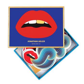 Jonathan Adler Shaped Lips 750 Piece Puzzle Shaped
