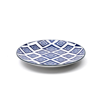 Zafferano America Blue Rhapsody Plate - Set of 6