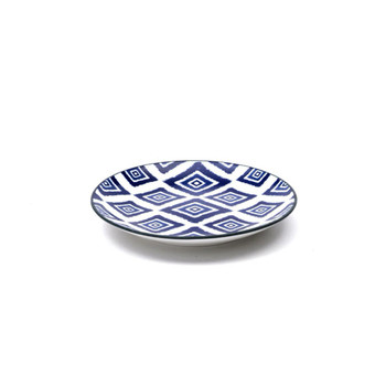 Zafferano America Blue Rhapsody Dessert Plate - Set of 6