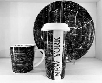 Caskata New York Collection Travel Mug