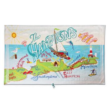 Catstudio The Hamptons Beach & Travel Towel