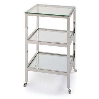 Regina Andrew Polished Nickel Alister Side Table