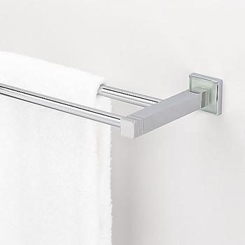 Valsan Cubis Double Towel Bar